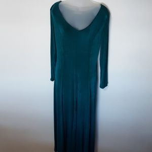 Together NWT Vintage V-Neck Long Dress M
